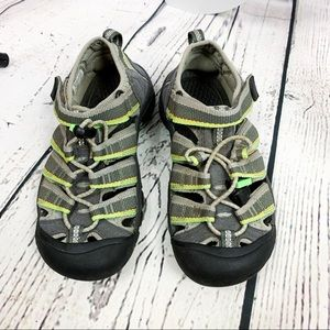 KEEN Green Waterproof Walking Sandals